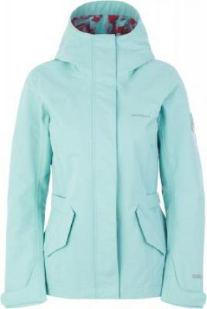 Ветровка женская , размер 44 Merrell. Цвет: голубой