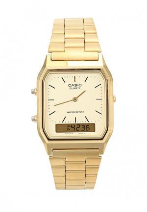 Часы Casio Collection AQ-230GA-9D. Цвет: золотой
