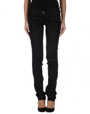 Джинсовые брюки CAMOUFLAGE AR AND J.. Цвет: стальной серый
