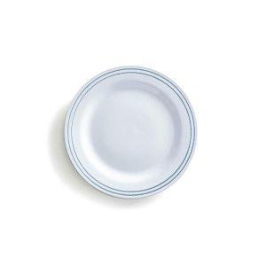 Комплект из 6 плоских тарелок LaRedoute. Цвет: белый