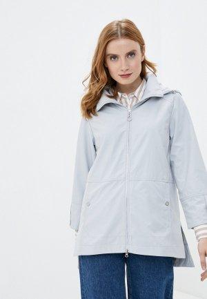 Куртка Снежная Королева. Цвет: серый