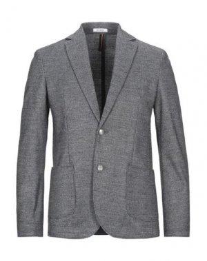 Пиджак OFFICINA 36. Цвет: стальной серый