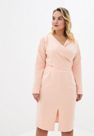 Платье Lacy. Цвет: розовый
