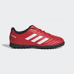 Футбольные бутсы Copa 20.4 TF Performance adidas. Цвет: красный
