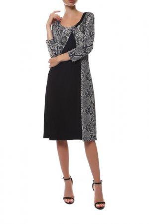 Платье FUEGO WOMAN. Цвет: черный
