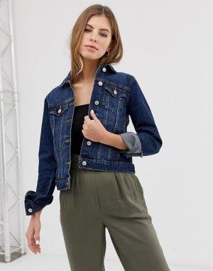 Синяя джинсовая куртка -Синий Pimkie