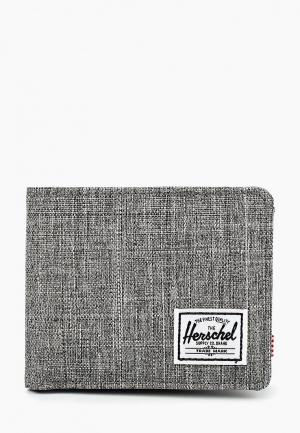 Кошелек Herschel Supply Co ROY RFID. Цвет: серый