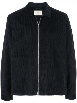 Вельветовая куртка Signal Folk. Цвет: синий