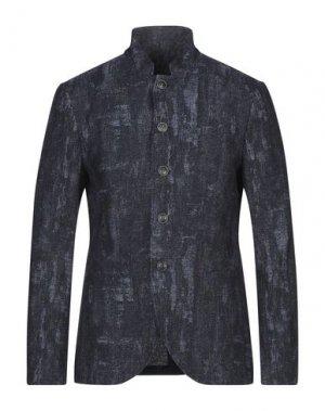Пиджак JOHN VARVATOS. Цвет: темно-синий