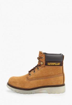 Ботинки Caterpillar LYRIC. Цвет: желтый