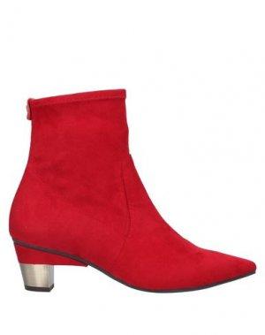 Полусапоги и высокие ботинки PEDRO MIRALLES. Цвет: красный