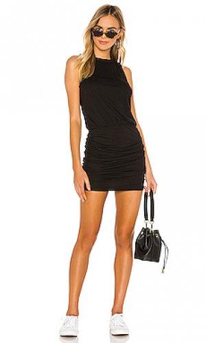Платье-майка majorca n:philanthropy. Цвет: черный