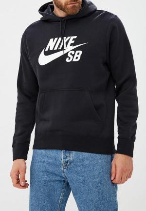 Худи Nike SB ICON MENS PULLOVER HOODIE. Цвет: черный