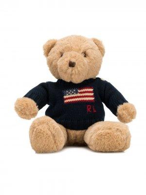 Плюшевый медведь Ralph Lauren Kids. Цвет: синий