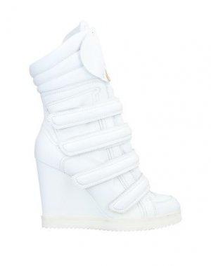 Полусапоги и высокие ботинки DSQUARED2. Цвет: белый