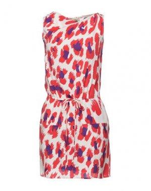 Короткое платье ISSA. Цвет: красный