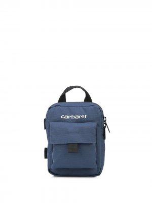 Кошелек с логотипом Carhartt WIP. Цвет: синий