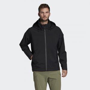 Куртка-дождевик Urban Performance adidas. Цвет: черный