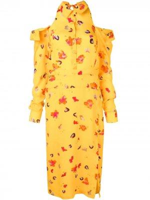 Платье Chiara Altuzarra. Цвет: желтый
