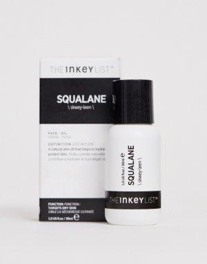 Увлажняющее сквалановое масло INKEY List, 30 мл-Бесцветный THE LIST