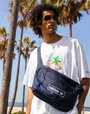 Темно-синяя сумка-кошелек на пояс Summer Club-Темно-синий adidas Originals