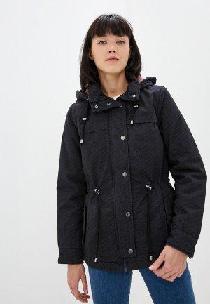Куртка утепленная Fresh Made. Цвет: черный