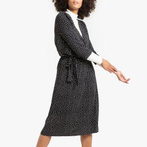 Платье LaRedoute. Цвет: черный