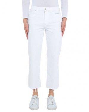 Джинсовые брюки JOE'S JEANS. Цвет: белый