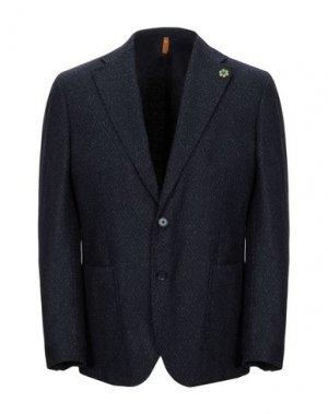 Пиджак GABARDINE. Цвет: темно-синий