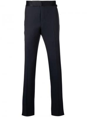 Классические прямые брюки Tom Ford. Цвет: синий