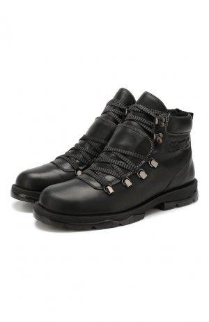 Кожаные ботинки Barra Jimmy Choo. Цвет: черный