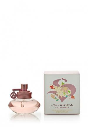 Туалетная вода Shakira Eau florale By 50 мл. Цвет: белый