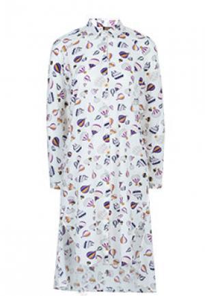 Платье VIA TORRIANI 88. Цвет: разноцветный