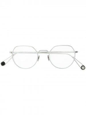 Round frame glasses Ahlem. Цвет: золотистый