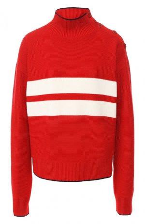 Кашемировый пуловер Loro Piana. Цвет: красный