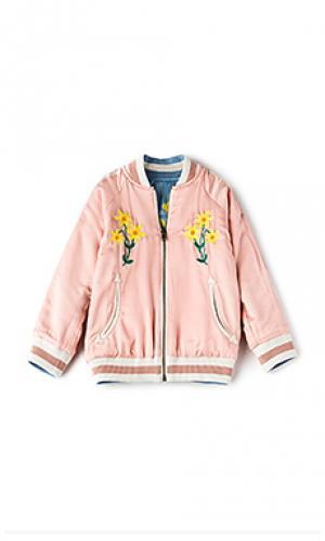 Двусторонняя куртка-бомбер willow Stella McCartney. Цвет: розовый