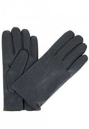 Перчатки EMPORIO ARMANI. Цвет: серый
