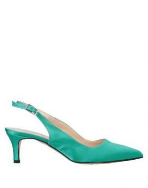 Туфли ANNARITA N. Цвет: изумрудно-зеленый