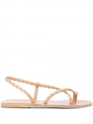 Сандалии с ремешками Ancient Greek Sandals. Цвет: нейтральные цвета