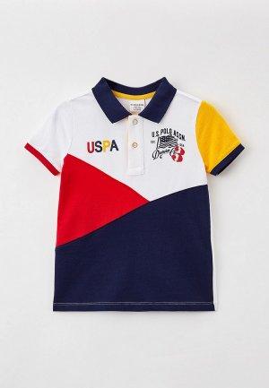 Поло U.S. Polo Assn.. Цвет: разноцветный