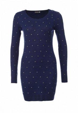 Платье LeMonada LE005EWET202. Цвет: синий