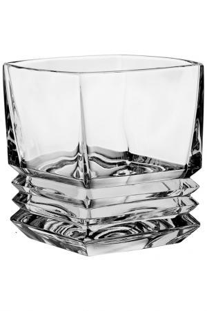 Набор стаканов, 6 шт. CRYSTAL BOHEMIA. Цвет: белый