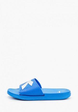Сланцы Diadora CRAWL BOX. Цвет: синий