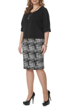 Блуза MONTEBELLUNA. Цвет: черный