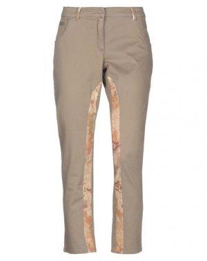Повседневные брюки ALVIERO MARTINI 1a CLASSE. Цвет: хаки