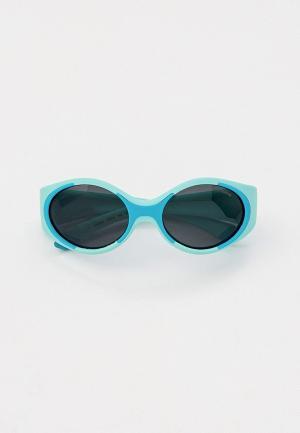 Очки солнцезащитные Polaroid. Цвет: бирюзовый