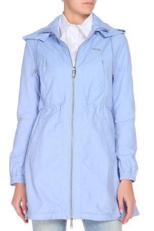 Куртка GF FERRE. Цвет: голубой
