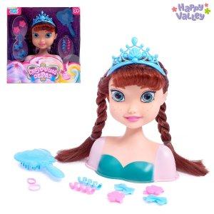 Кукла-манекен для создания причёсок Happy Valley