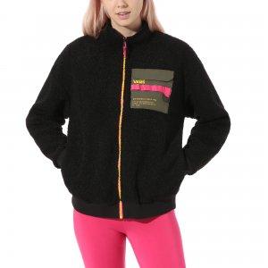 Куртка 66 Supply Zip Sherpa VANS. Цвет: черный