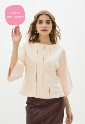 Блуза Adzhedo. Цвет: коралловый